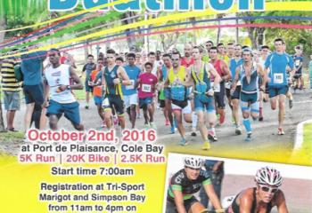 Tropical Duathlon on October 2nd 2016