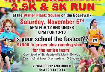 Interscholastic 2.5 km and 5 km run