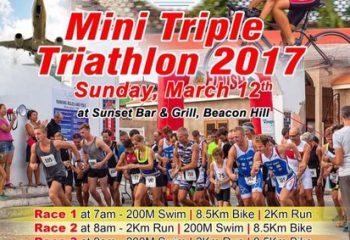 Mini Triple Triathlon by Sunset Bar & Grill
