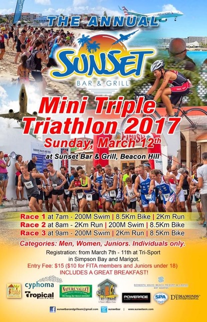 The Sunset Mini Triathlon 2017 - Caribbean International Academy