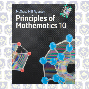 MPM2D - Principles of Mathematics 10 Textbook
