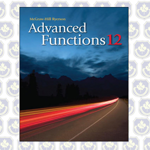 Grade 12 Advanced Functions Textbook Pdf