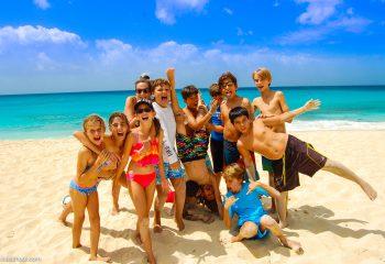 Grade 6 Field Trip at Dominos and Mullet Beach