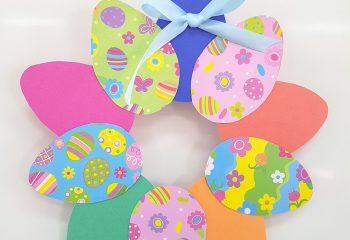 Easter wreath 012